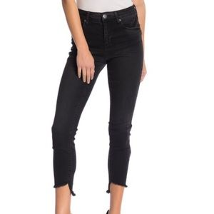 Nordstrom STS Blue High Rise Black Jeans